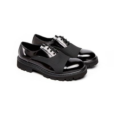 SG Tatler Fashion Drops - Emporio Armani Leather Derby Shoes