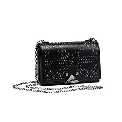 SG Tatler Fashion Drops - Emporio Armani Studded Shoulder Bag