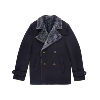 SG Tatler Fashion Drops - Emporio Armani Double Breasted Coat