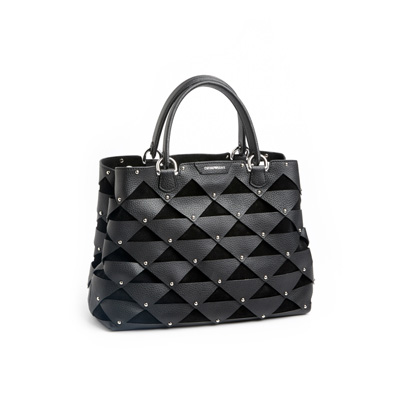 SG Tatler Fashion Drops - Emporio Armani Leather Bag