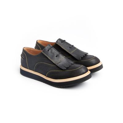 SG Tatler Fashion Drops - Emporio Armani Leather Shoes