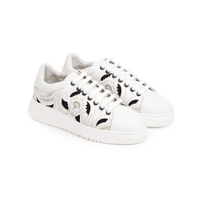 SG Tatler Fashion Drops - Emporio Armani Leather Sneakers
