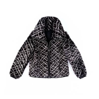 SG Tatler Fashion Drops - Emporio Armani Reversible Fur Jacket