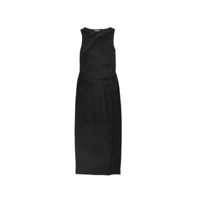 SG Tatler Fashion Drops - Emporio Armani Sleeveless Dress With Slit