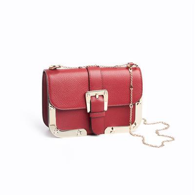 SG Tatler Fashion Drops - REDValentino RED(V) Chain Bag with Star Studs