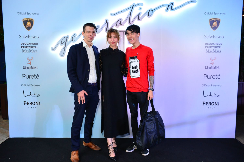 Bradley Foisset, Mae Tan, Ruben Pang