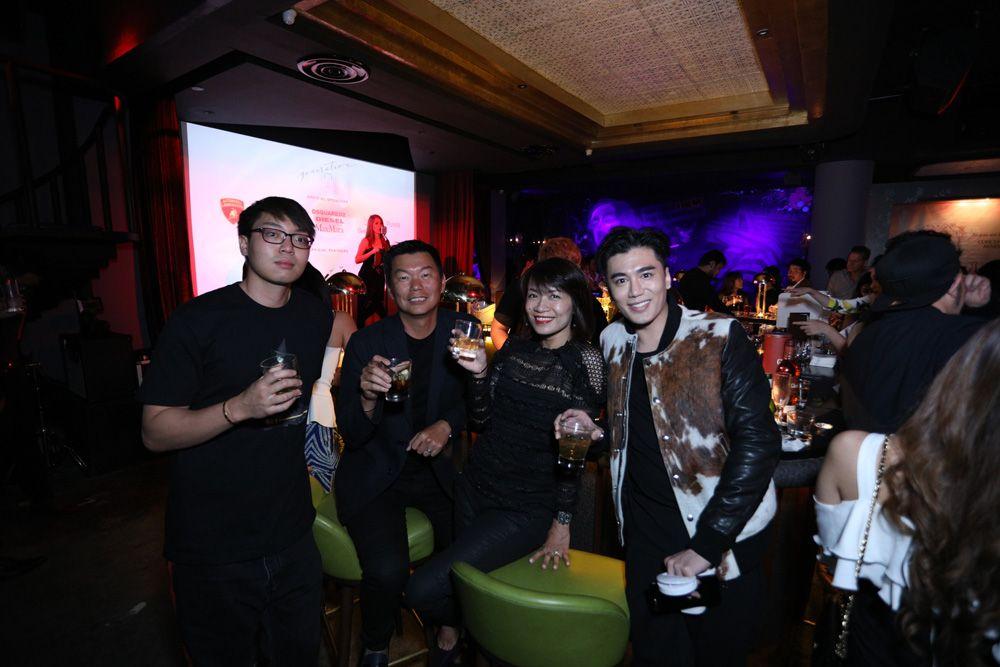 Guest, Alfred Chua, Annie Seow, Benjamin Khoh