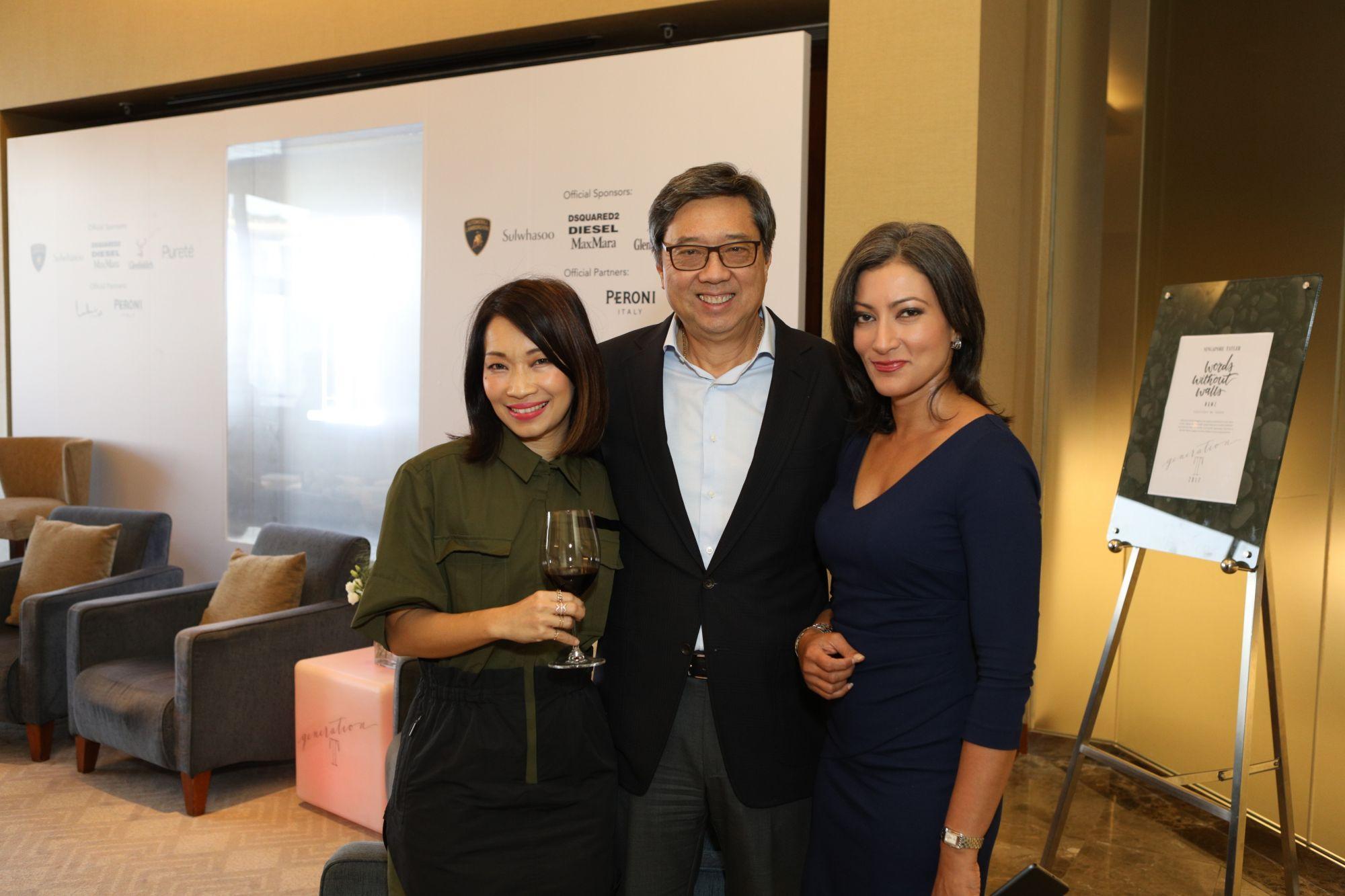 Corinne Ng, Richard Eu, Sharanjit Leyl