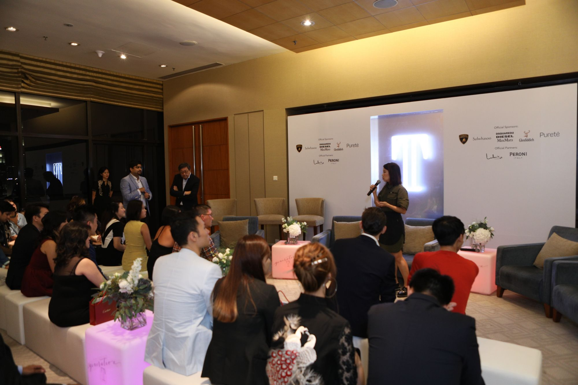 Corinne Ng, guests