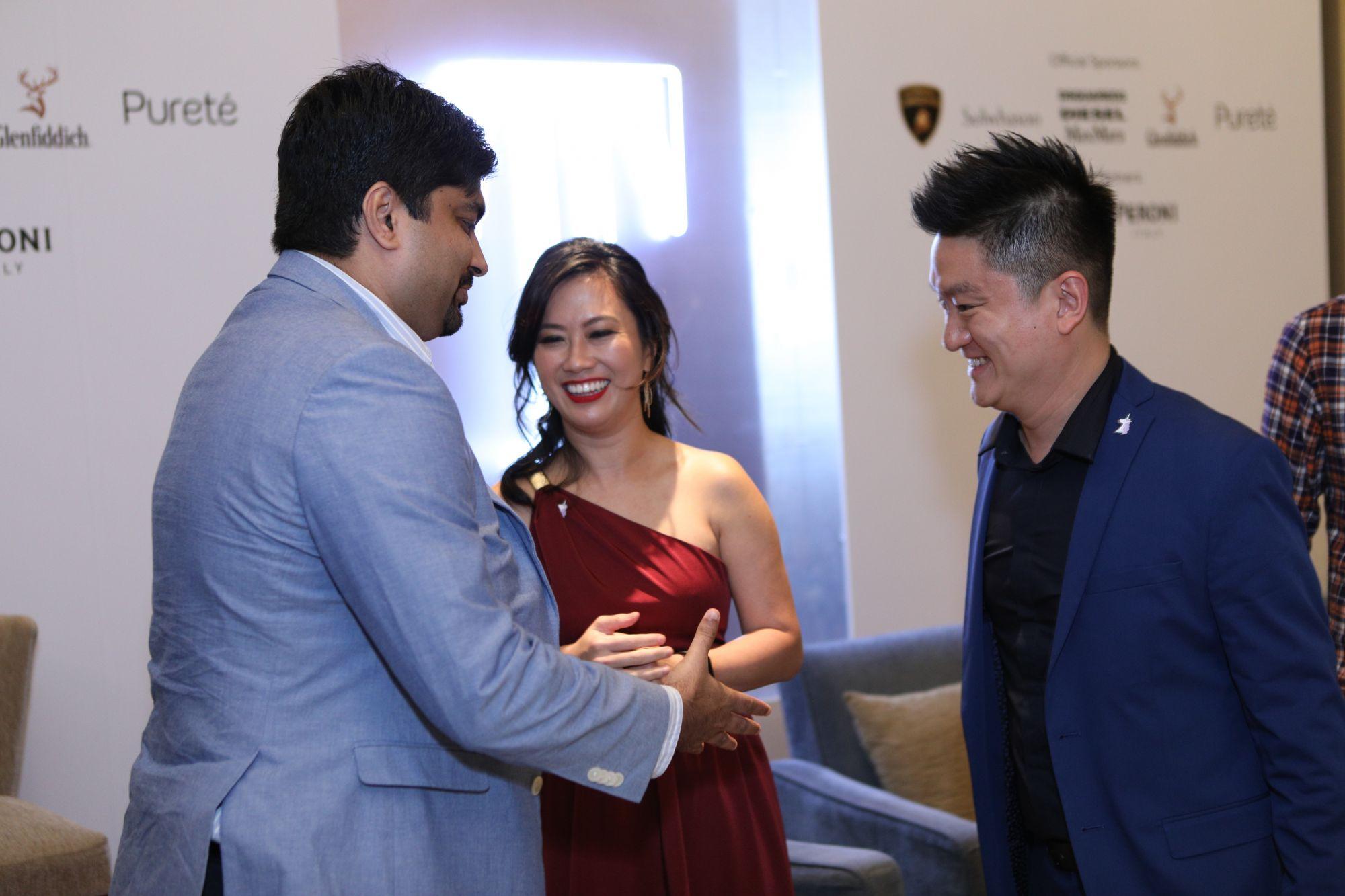 Shashank Dixit, Cherilyn Tan, Tan Szue Hann