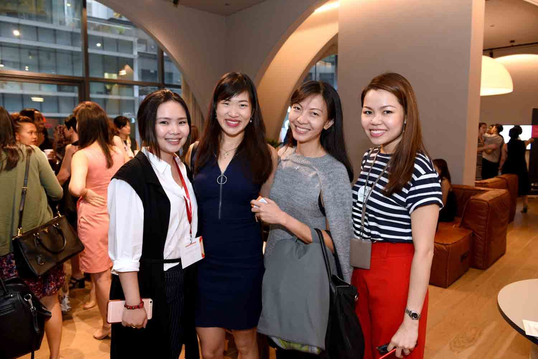 Cassandra Riene, Nicole Tan, Nicole Wee, Heidi Lee
