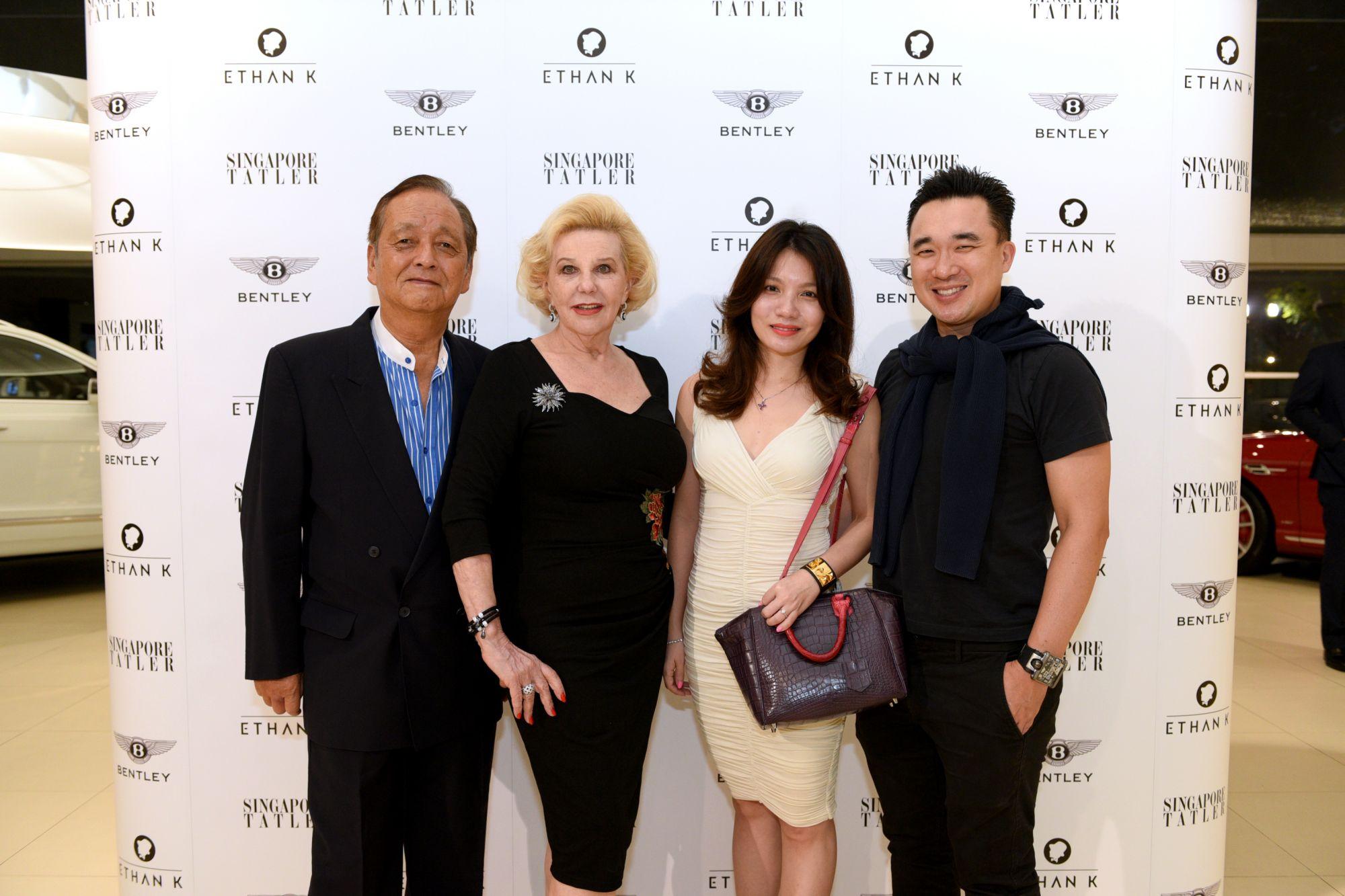 Katsuji Iwatake, Gerti Iwatake, Jocelyn Tan, Gerald Tan