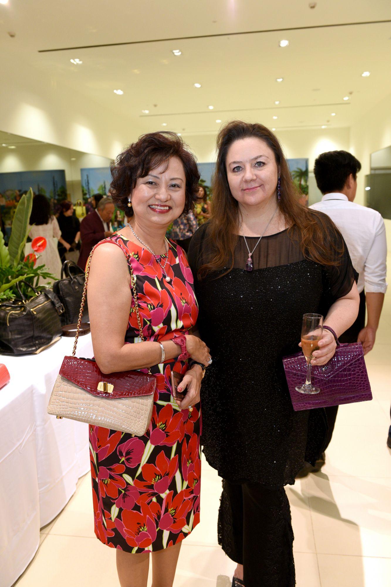 Maureen Koh, Elena Iwatake