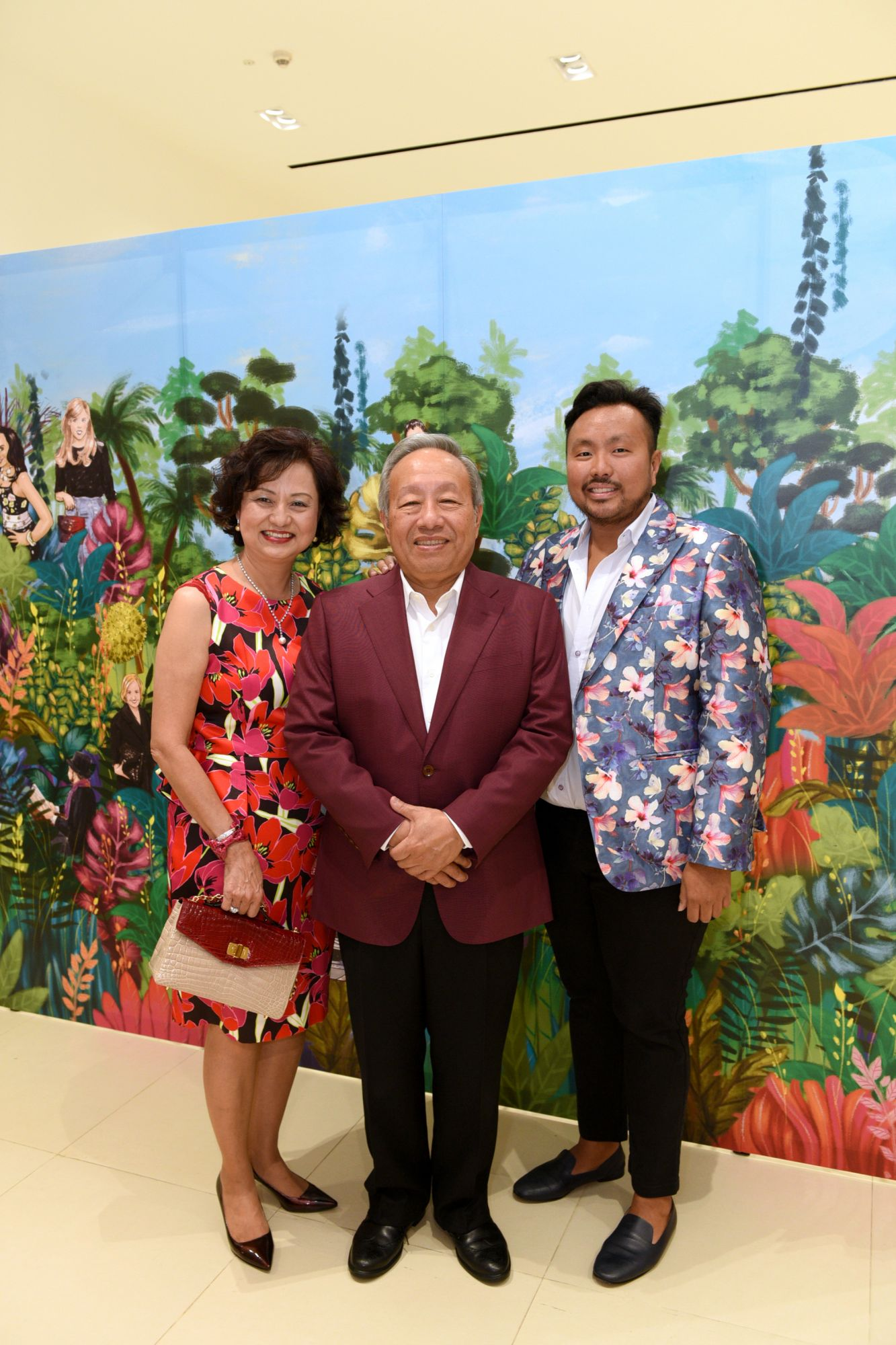 Maureen Koh, Koh Chon Tong, Ethan Koh