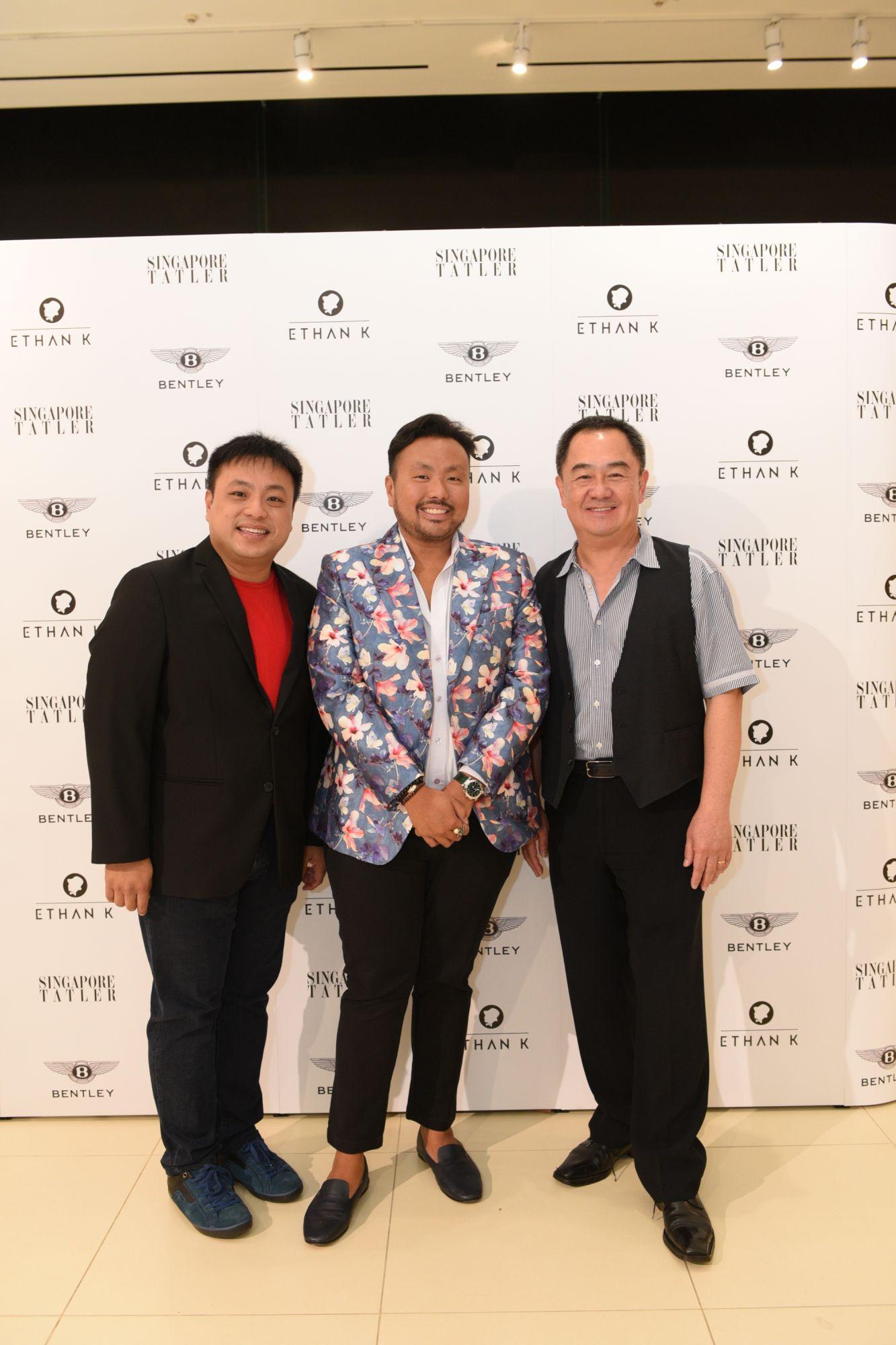 Albert Koh, Ethan Koh, Gay Chee Cheong