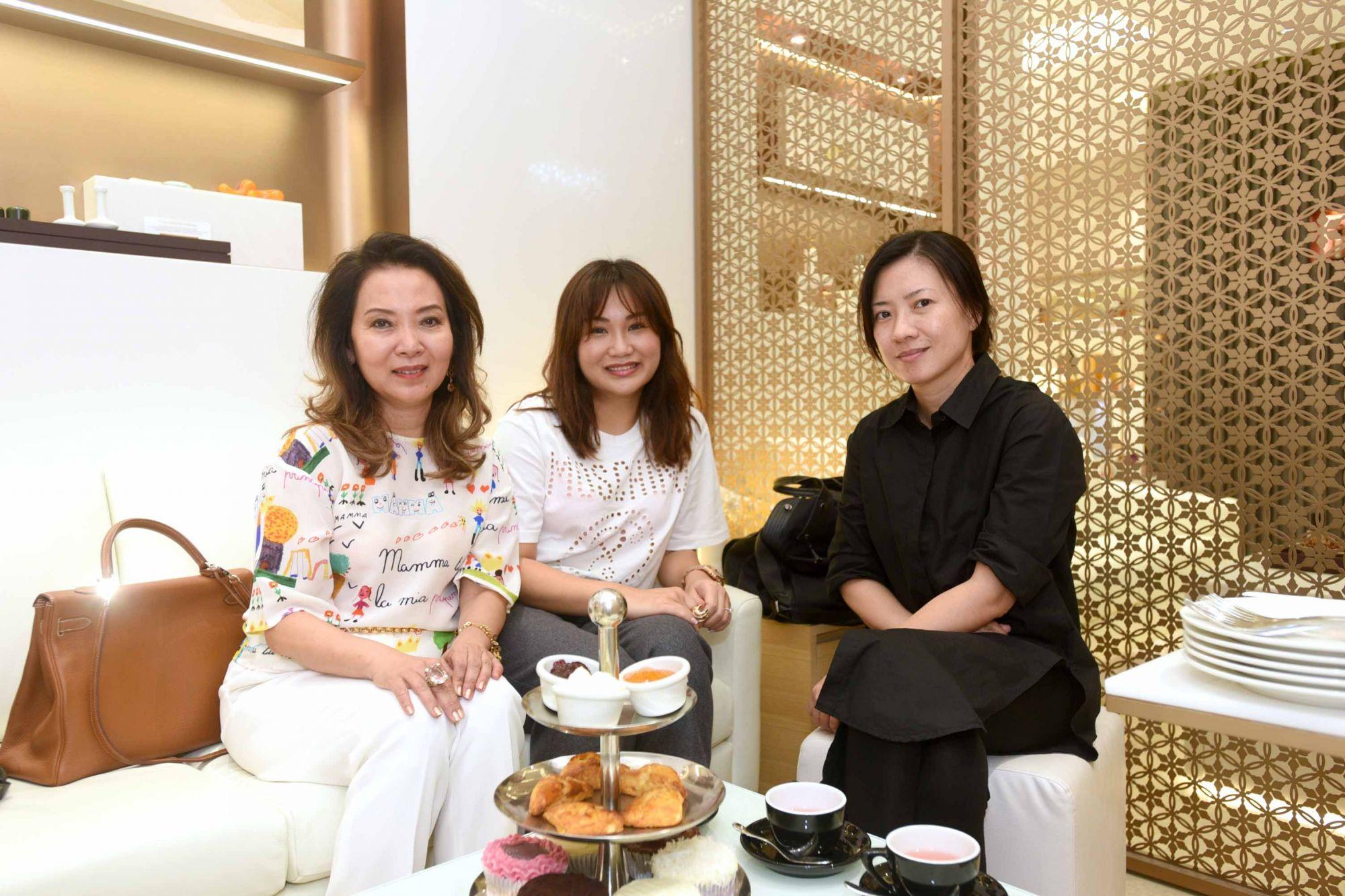Joyce Ang, Selina Low, Michelle Tan
