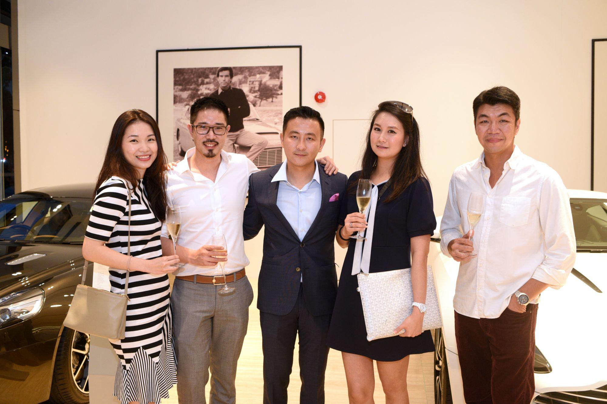 Michelle Chui, Jared Kok, Jeremy Chee, Katie Kang, Anton Chan