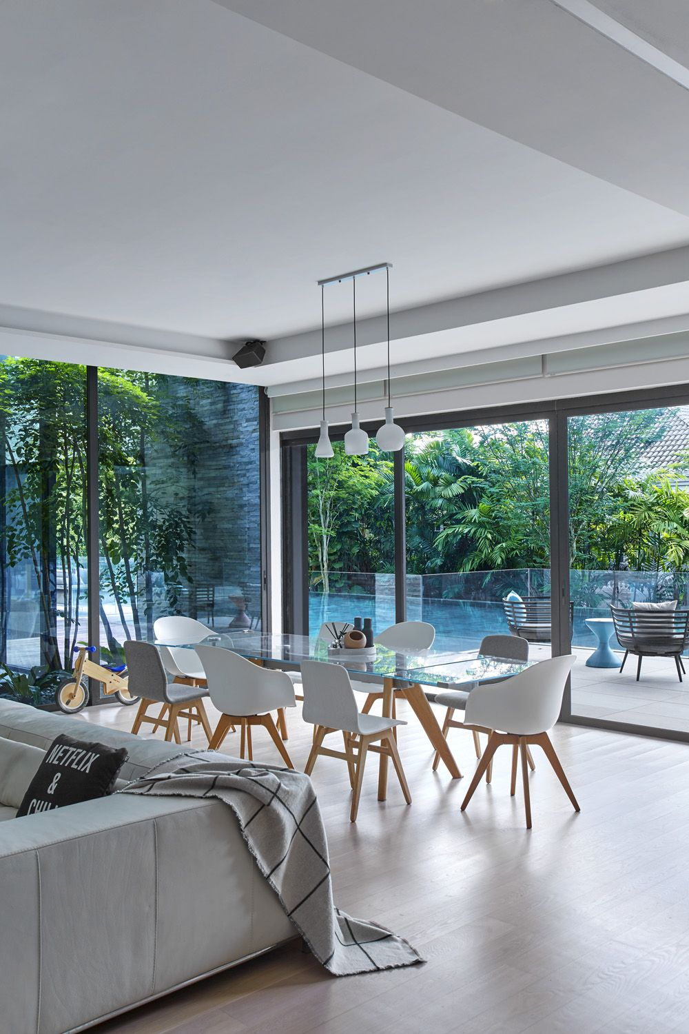 This Scandi-Chic Singapore Home Is A Tropical Sanctuary