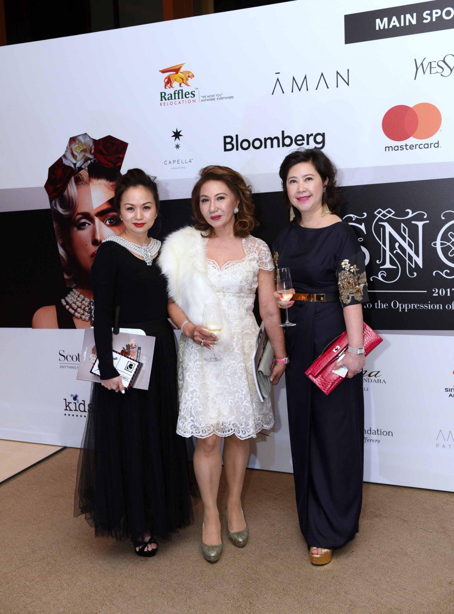 Tonya Tan, Maria See, Lina Rawung