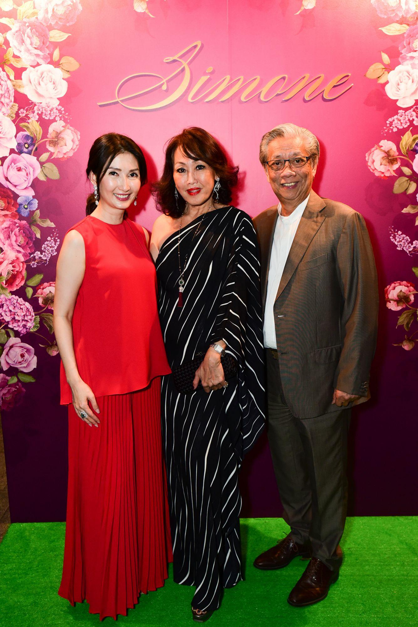 Simone Ng, Annie Goh, Ronnie Goh
