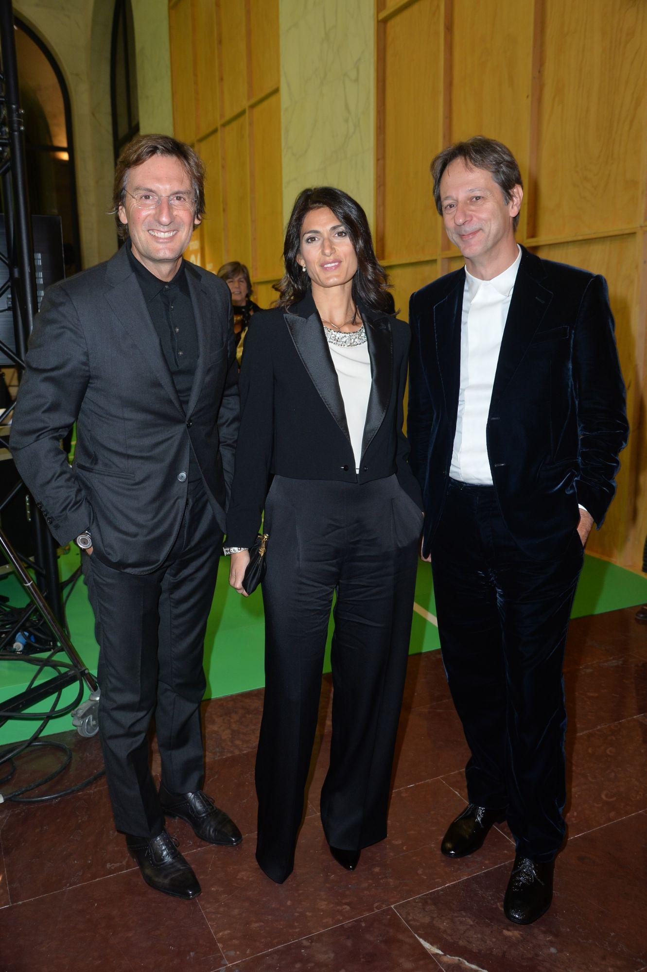 Pietro Beccari, Virginia Raggi, Luca Bergami