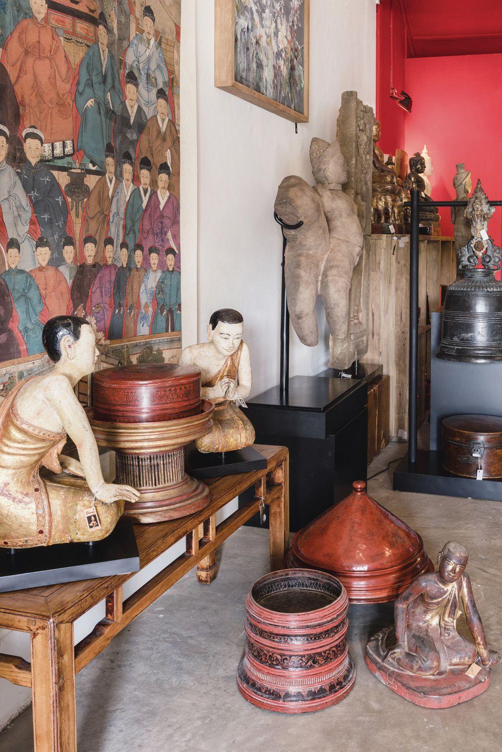Shang Antique interior