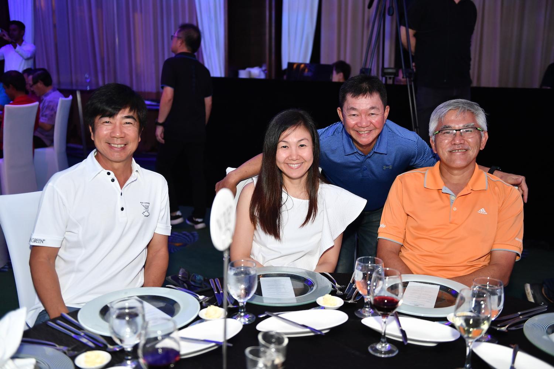 Jeff Goh, Jasmine Tan, Philip Pang, Ong Chee Beng