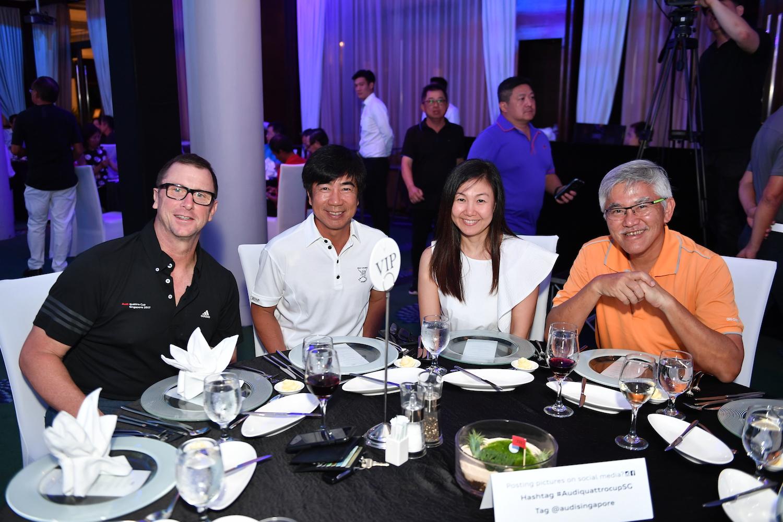 Jeff Mannering, Jeff Goh, Jasmine Tan, Ong Chee Beng