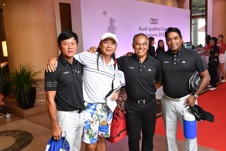 Lim Joo Seng, Tan Lee Hong, Albert Ng, Arivazagan Raju
