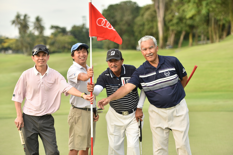 Mike Wong, Quah Siew Huat, Zanial Samat, Abdul Rahim Jaafar