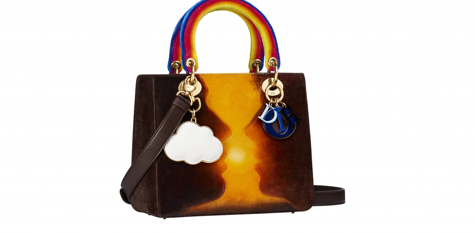 The Lady Dior bag designed by Friedrich Kunath - Dior Lady Art #2. Photo courtesy of Frederic Leclere