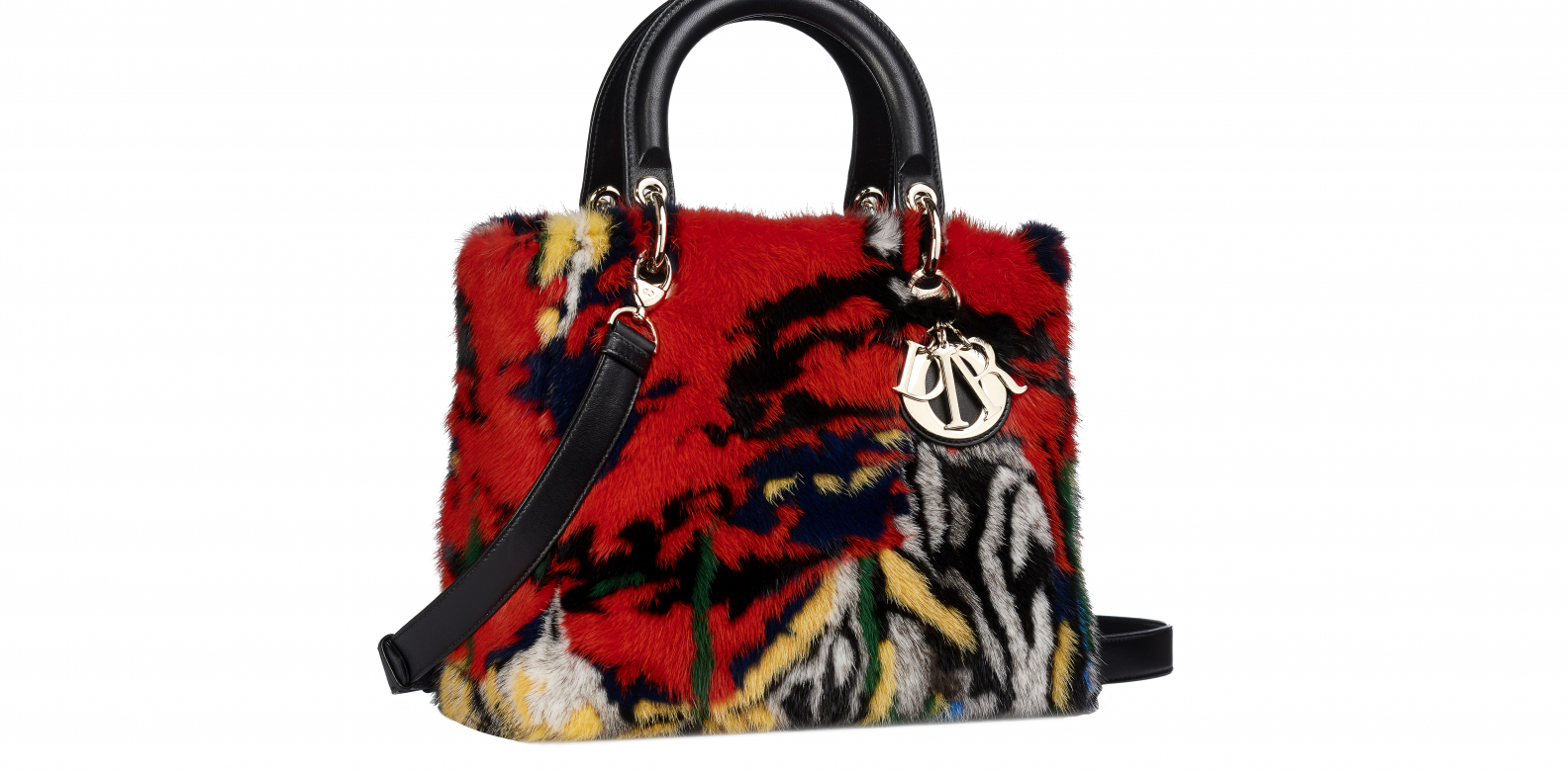 The Lady Dior bag designed by Namsa Leuba - Dior Lady Art #2. Photo courtesy of Frederic Leclere