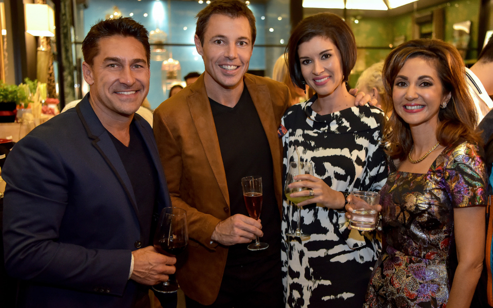 Jamie Durie, Cameron Richards, Andrea Savage, Nikki Hunt
