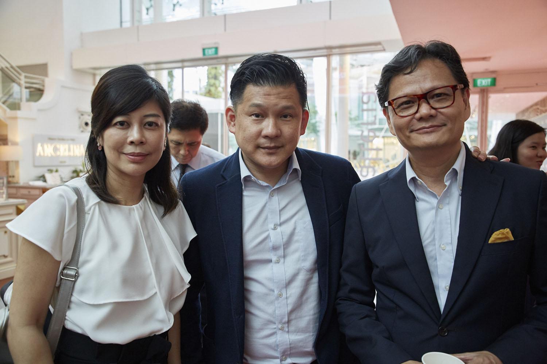 Yeo Yin-Yin, Wilson Lim, Raphael Chan