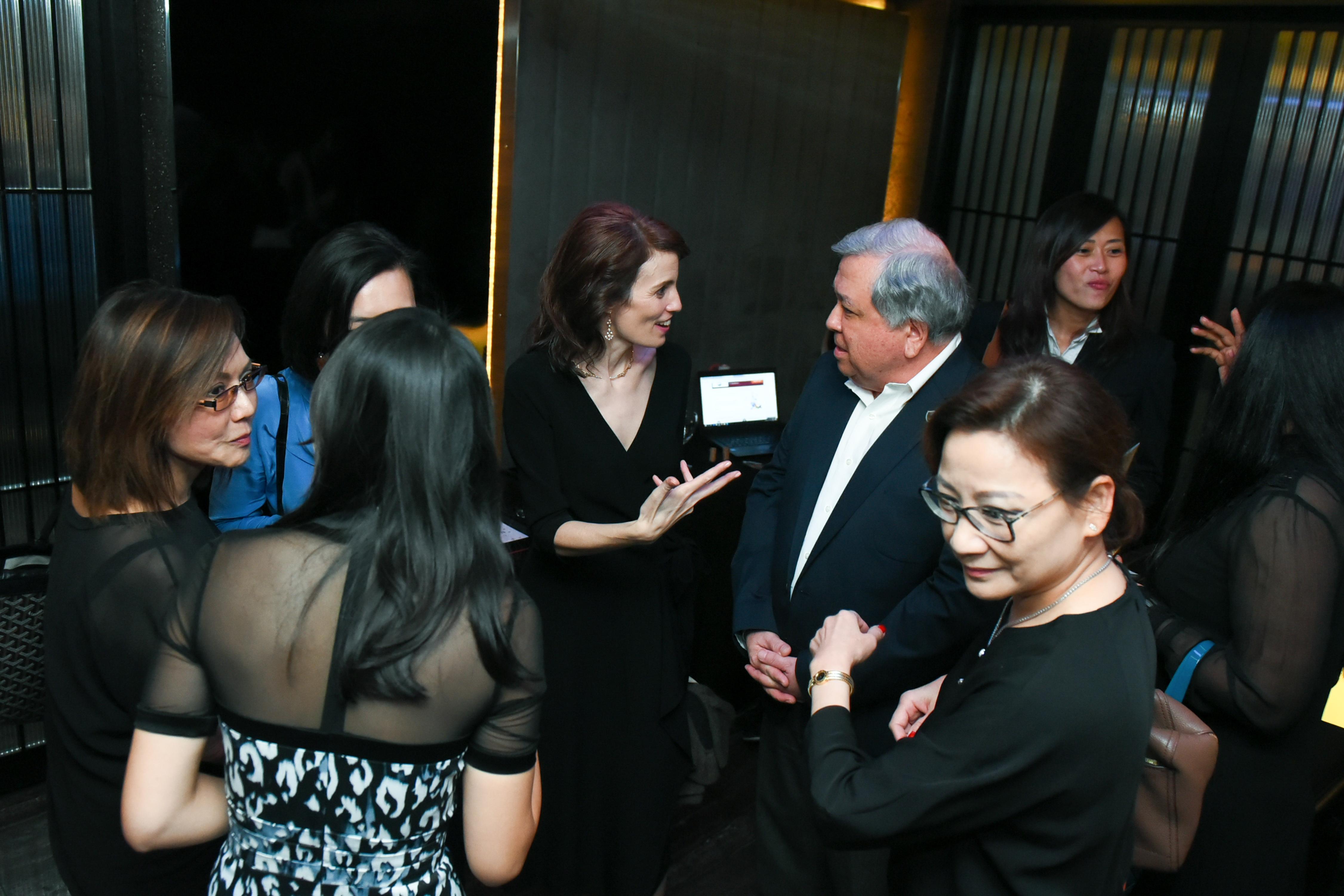Anne Marie Clavelli, Keith Chua, Irene Chua