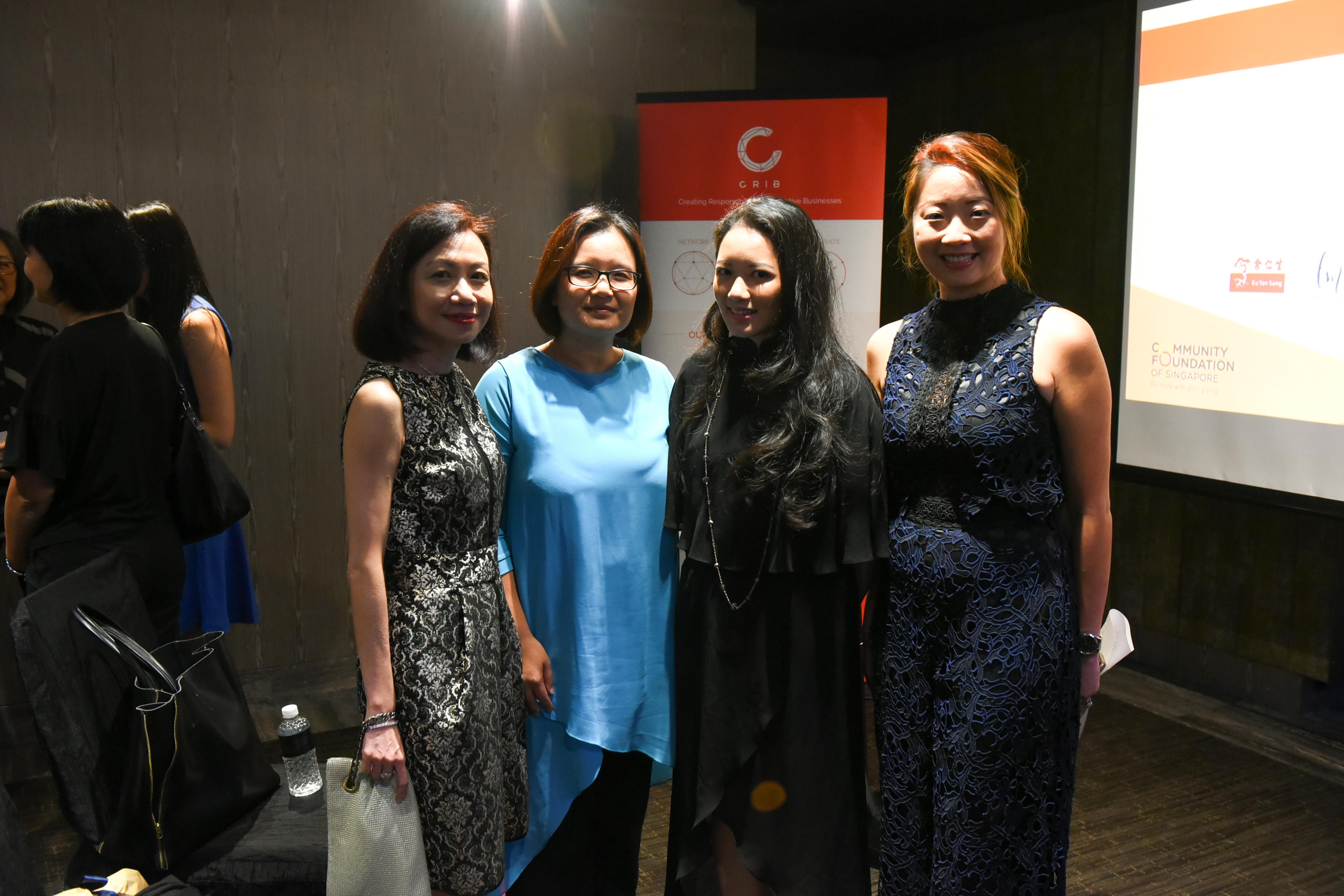 Catherine Loh, Patsian Low, Elaine Kim