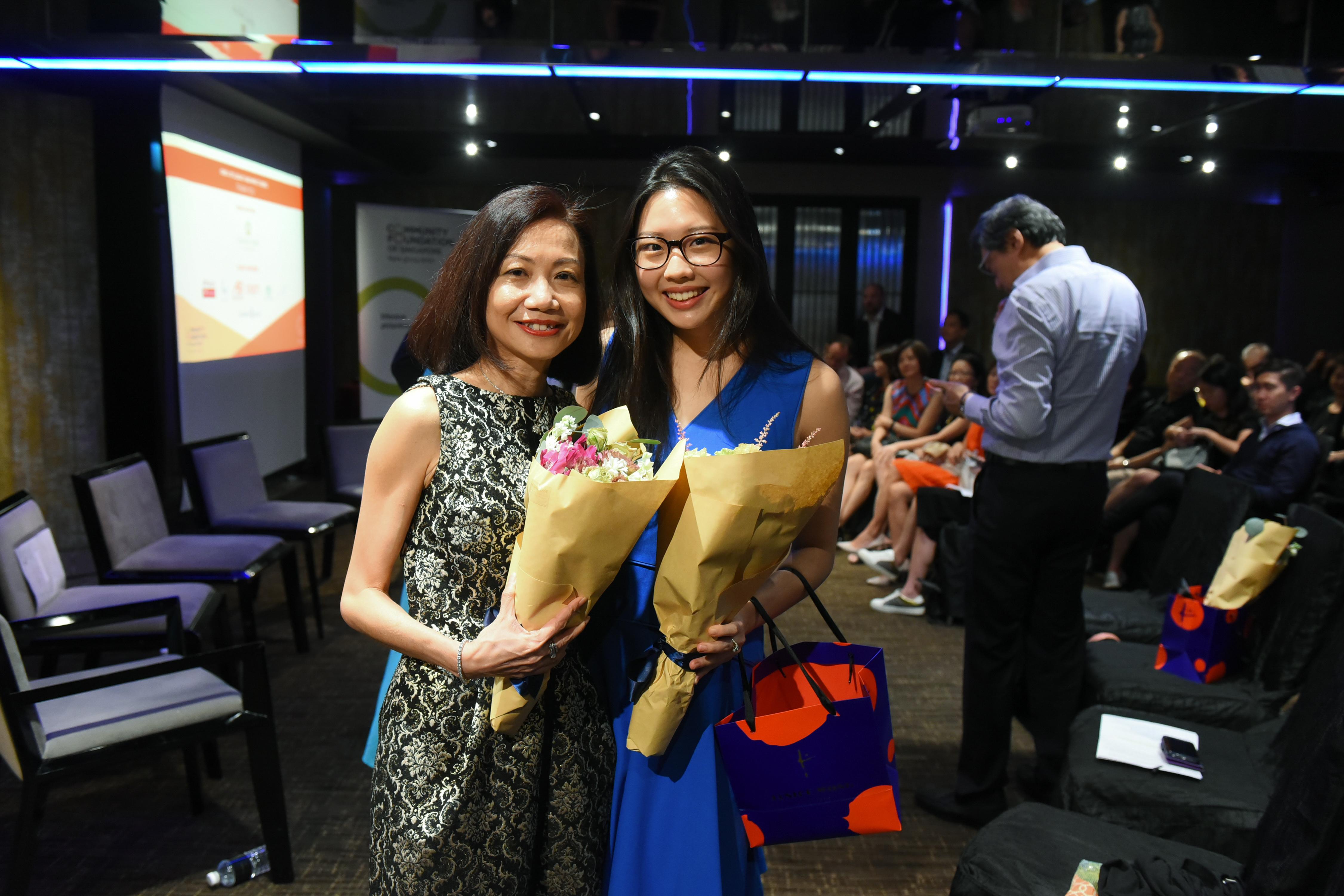 Catherine Loh, Rebecca Eu