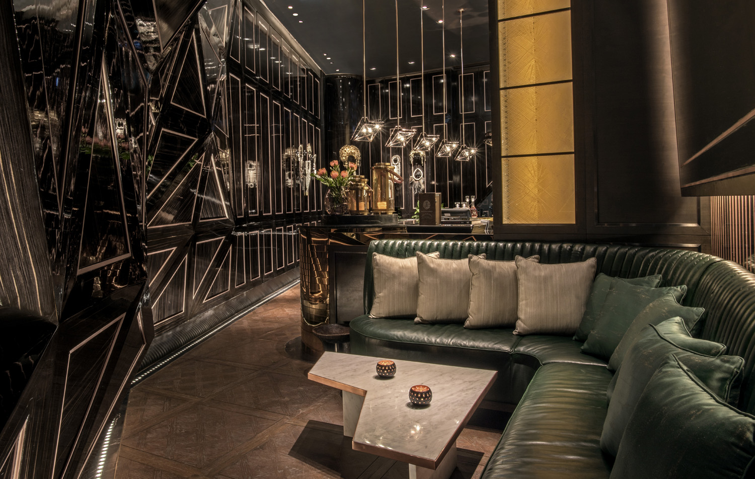 The Whisky Room at The Penthouse Bar + Grill in Park Hyatt Bangkok