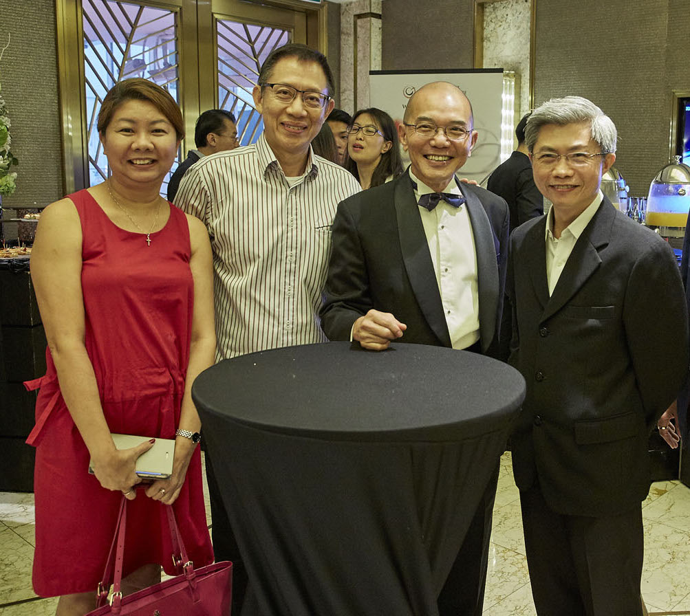 Sheryn Lin, Alfred Lai, Albert Kong, Alvin Lim