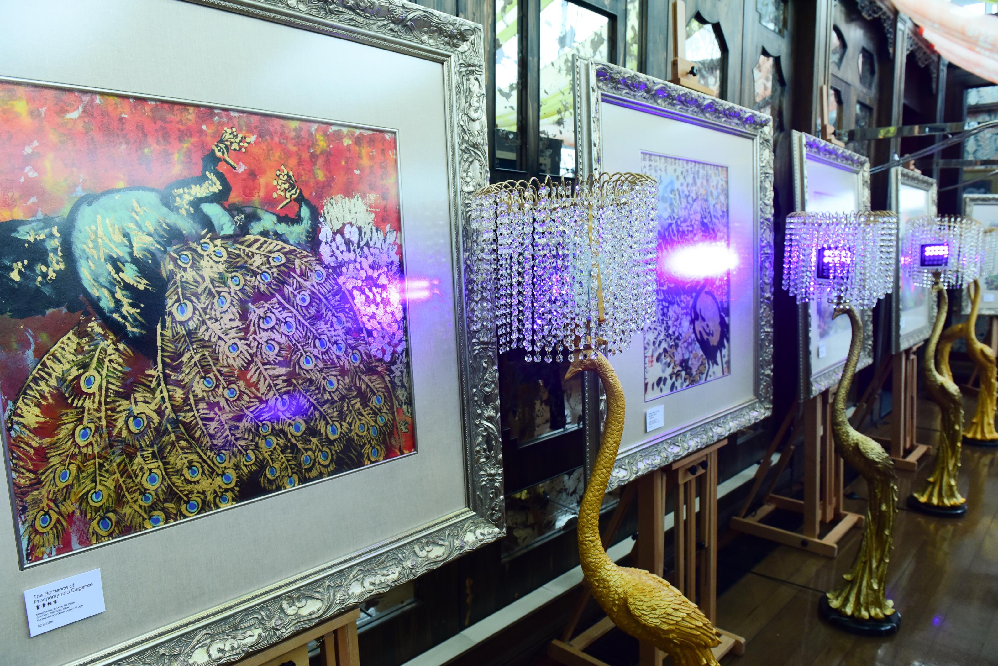 Paintings by master Yun Long Zi