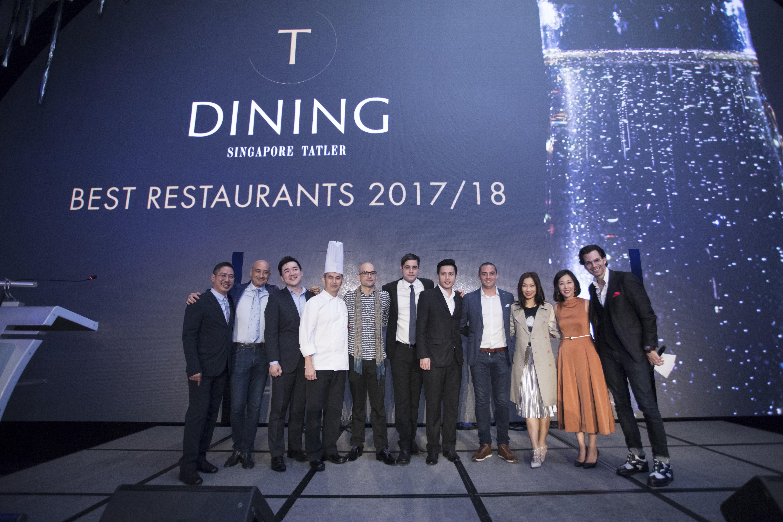 T.Dining Best Restaurants 2017/18 award winners