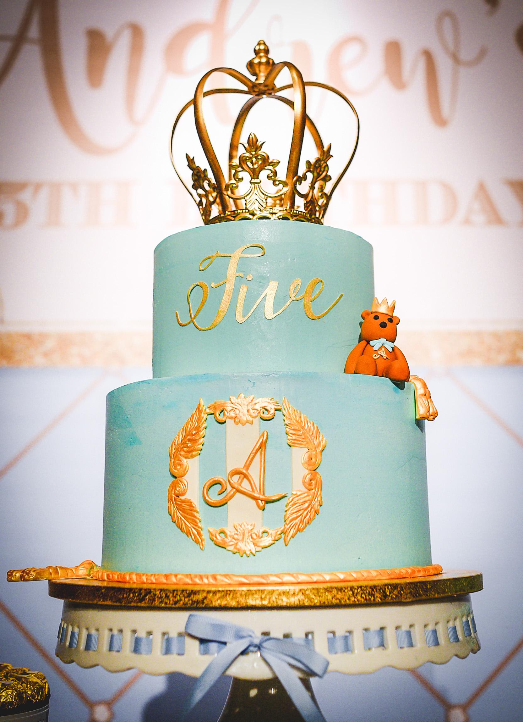 The grand birthday cake