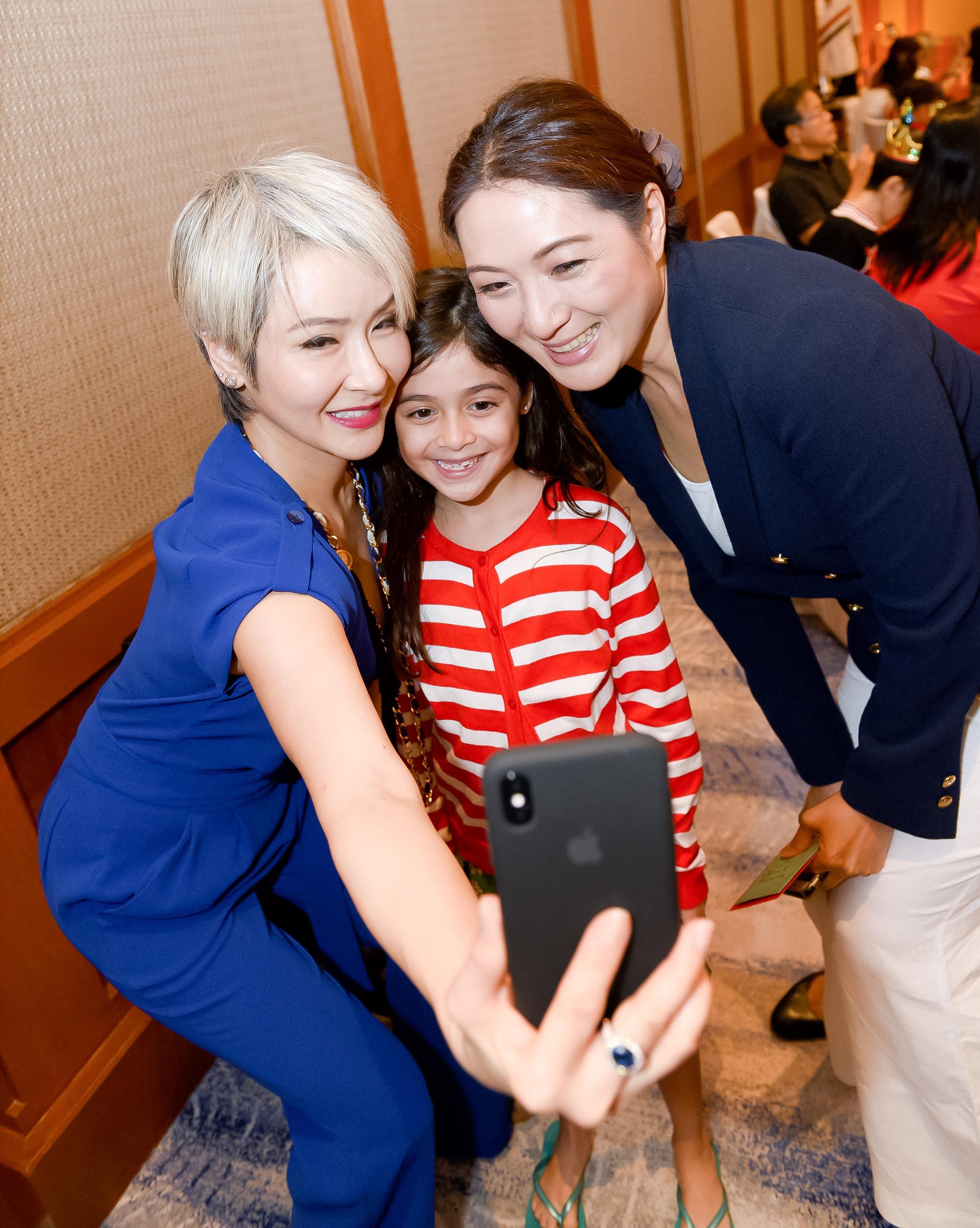 Celina Lin, Athena Goros, Nana Au-Chua