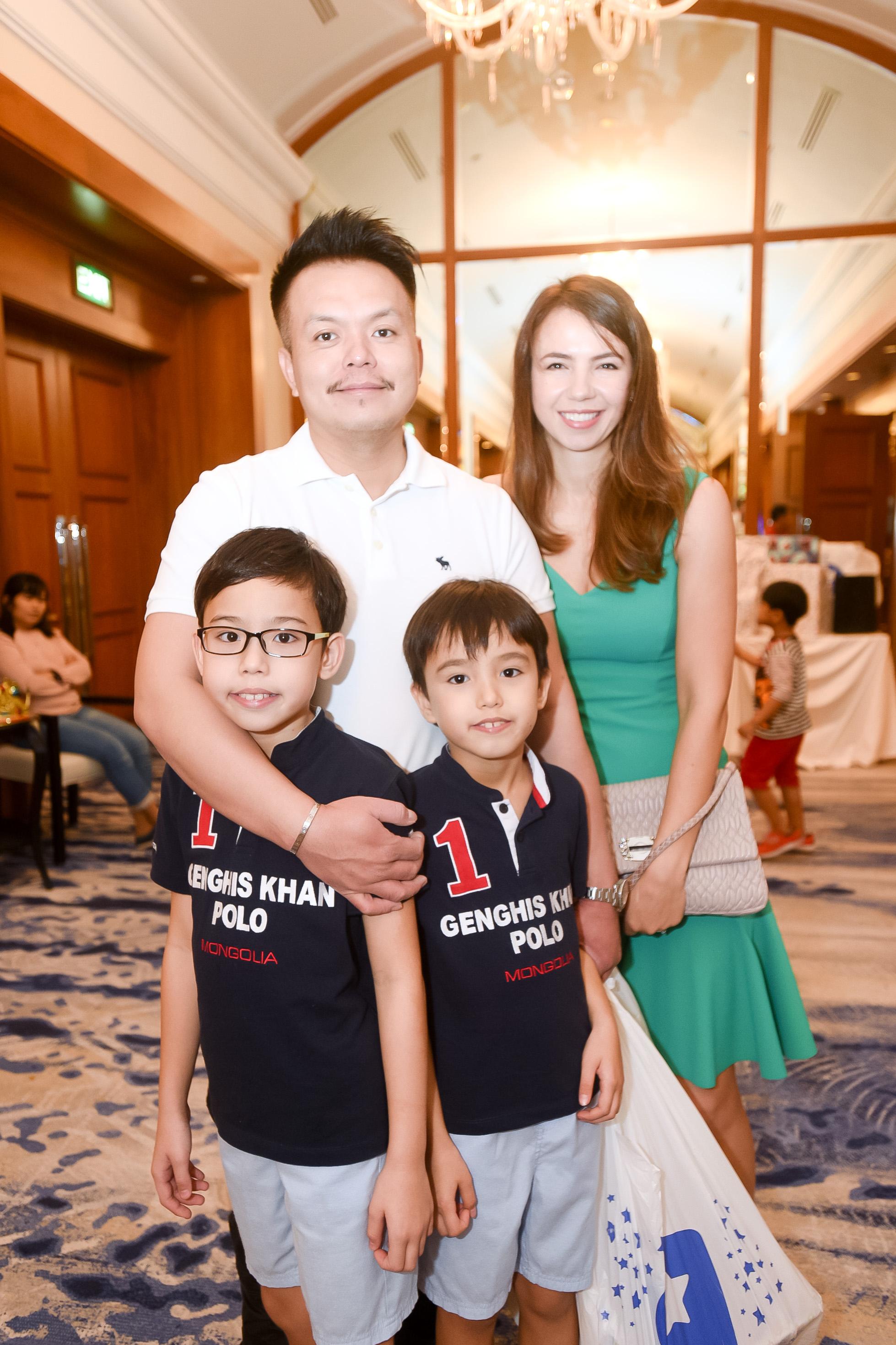 Anthony Huang, Jason Huang, Ethan Huang, Ana Huang