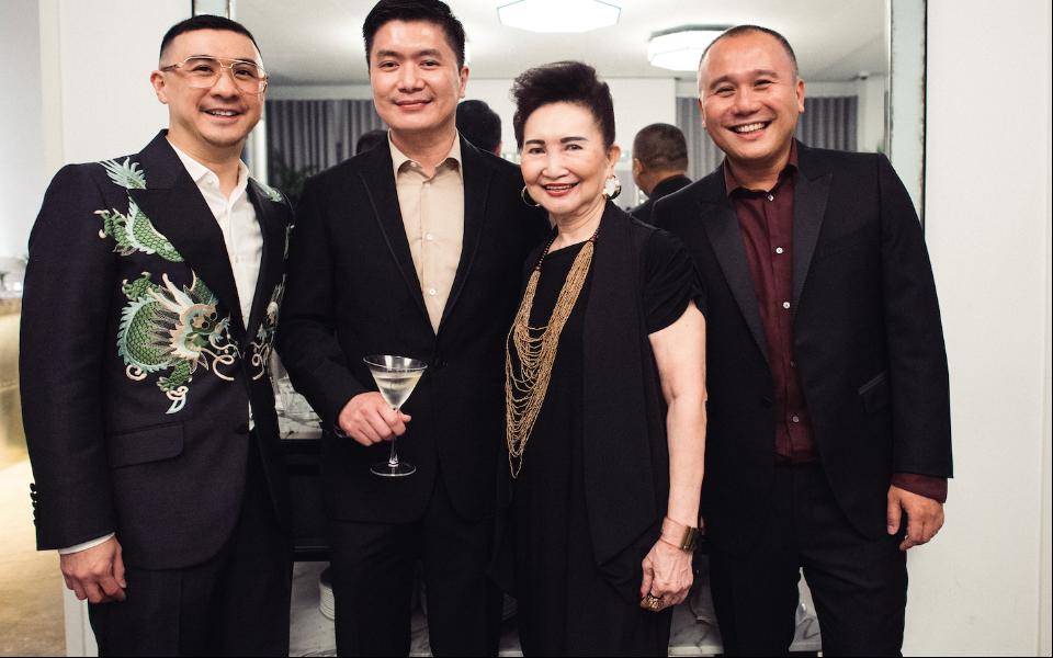 Axton Salim, Charlton Ong, Julie Goh, Wee Sing An