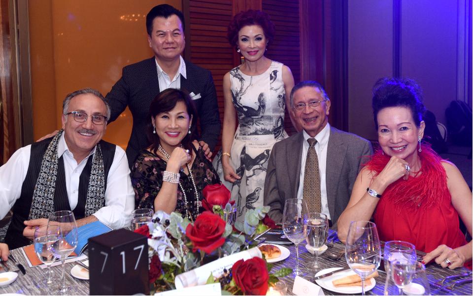 Jean Nasr, Adrian Peh, Pauline Chan, Linda Soo-Tan, Lawrence Basapa, Celeste Basapa