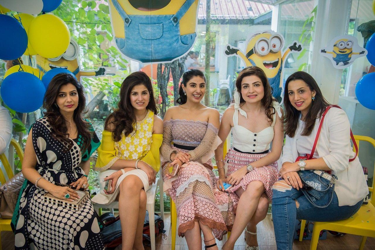 Schezene Khan, Shazreh Rahman, Nayantara Dhillon, Roshan Valiram, Sujata Kumar