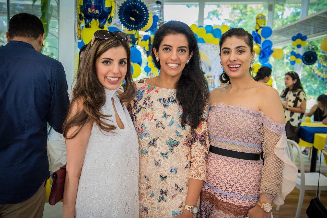 Sheryl Wadhwani, Michelle Buxani, Nayantara Dhillon