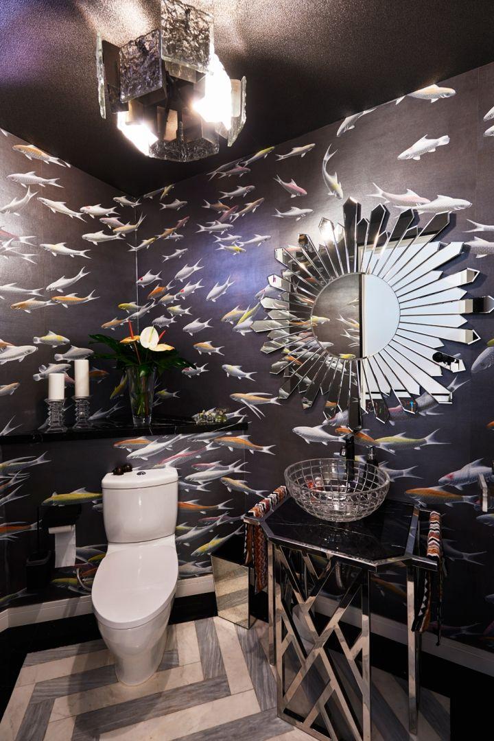 Design Intervention partner Andrea Savage's bathroom