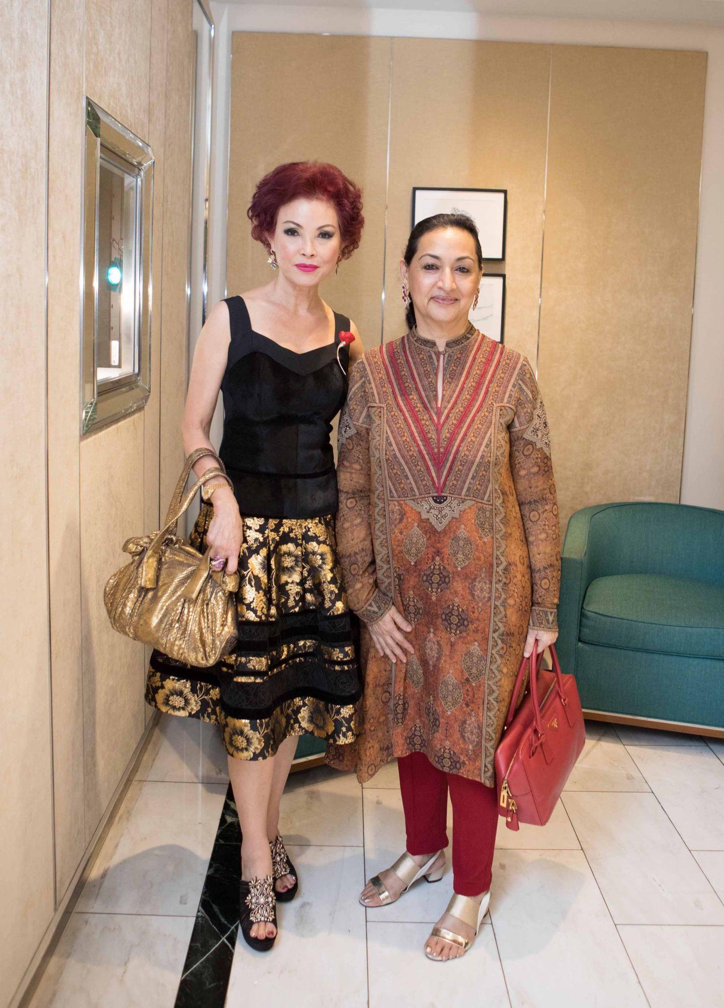 Linda Soo-Tan, Maniza Jumabhoy
